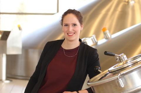 Pia Munschek, PR-Managerin bei der Krombacher Brauerei